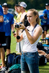 Laura taking on camera duties - 9-27-2008
